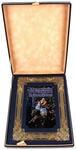 Книга в кожаном переплете и подарочном коробе. Великие русские художники