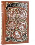 Подарочная книга в кожаном переплете. Крылов И. Собрание сочинений в 2-х томах