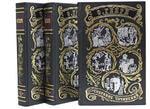 Подарочная книга в кожаном переплете. Генри О. Сочинения в 3-х томах