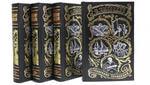 Подарочная книга в кожаном переплете. Высоцкий В. Собрание сочинений в 4-х томах