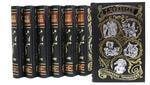 Подарочная книга в кожаном переплете. Ги Де Мопассан. Собрание сочинений в 7-ми томах