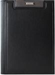 Подарочный ежедневник в кожаном переплете (А5). Black (цвет чёрный)