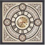 Настенные часы из натуральной кожи. Барокко