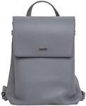 Рюкзак из натуральной кожи (цвет серый)