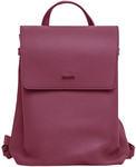 Рюкзак из натуральной кожи (цвет бордо)