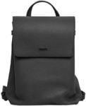 Рюкзак из натуральной кожи (цвет черный)