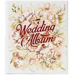 Подарочный большой фотоальбом из натуральной кожи. Wedding Album | Белый