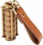 Подарочная металлическая флешка. Криптекс с цифровым кодовым замком (цвет бронза)