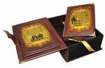 Книга в кожаном переплете и подарочном коробе. Настольная книга руководителя