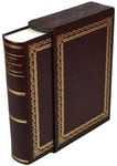 Подарочная книга в кожаном переплете. Охота в России во всех её видах (в футляре)