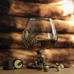 Подарочный бокал для коньяка. Осетр