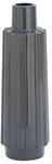 Подарочная стелянная ваза. Серый лофт (43*13*13 см)