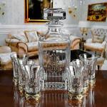 Подарочный набор для водки в деревянной шкатулке (7 предметов). Глава семьи
