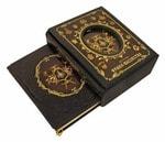 Подарочная книга в кожаном переплете. Исторiя франк-масонства от вознiкновенiя его до настоящаго времени в 2-х книгах (в коробе)