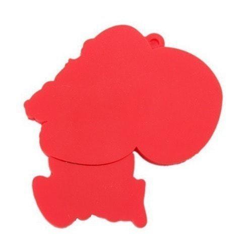 Подарочная флешка. Дед Мороз с мешком подарков (фото, вид 2)