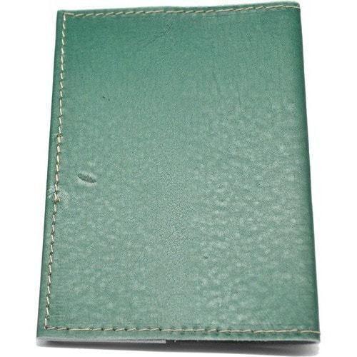 Кожаная обложка на паспорт. Домик в лесу (фото, вид 3)