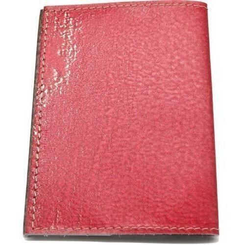 Кожаная обложка на паспорт. Герб СССР (фото, вид 3)