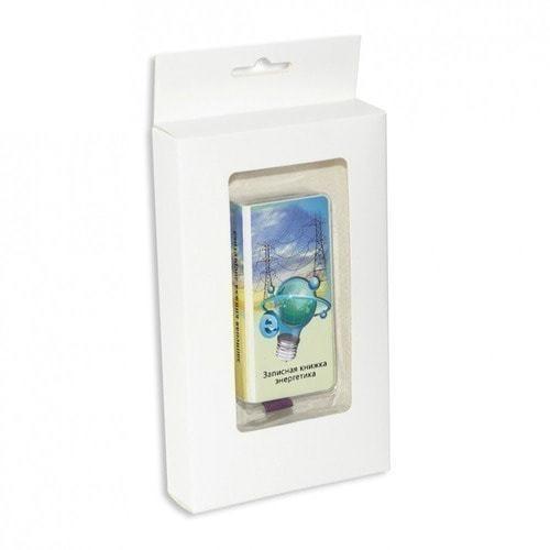 """Подарочный внешний аккумулятор """"Записная книжка энергетика"""" (4000 mAh) (фото, вид 2)"""