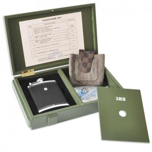 Подарочный набор с внешним аккумулятором. Зарядный ящик (11000 mah) (фото, вид 1)
