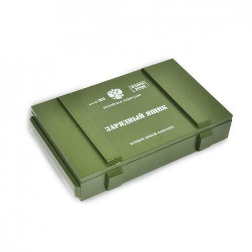Подарочный набор с внешним аккумулятором. Зарядный ящик (11000 mah) (фото, вид 2)