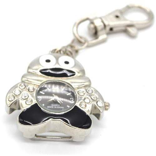 Ювелирные часы с флешкой. Пингвин (цвет черный) (фото, вид 1)