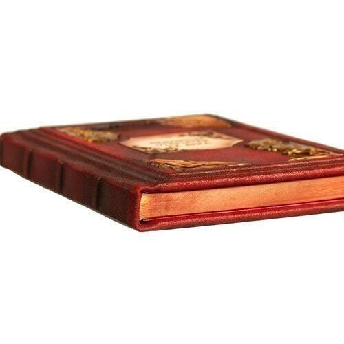 Подарочная книга в кожаном переплете. Любовные открытки 20 века (фото, вид 4)