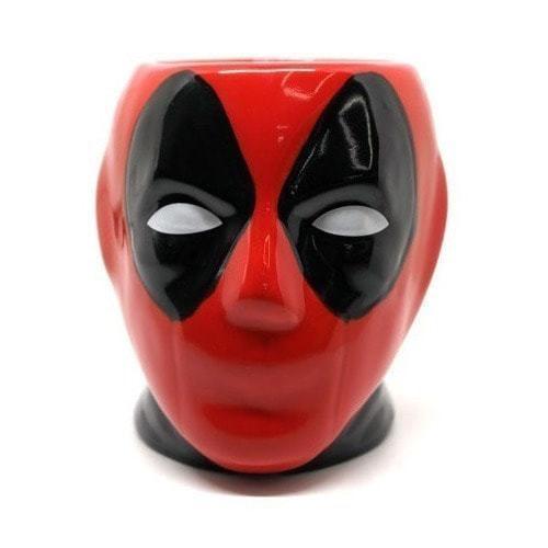 Подарочная 3D керамическая кружка Супергерои. Дэдпул (Deadpool) (фото, вид 16)