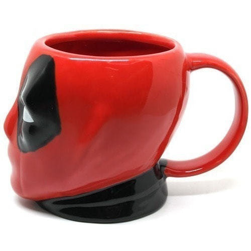 Подарочная 3D керамическая кружка Супергерои. Дэдпул (Deadpool) (фото, вид 20)