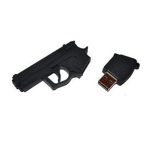 Подарочная флешка. Пистолет (фото, вид 3)