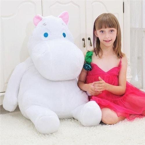 Плюшевая игрушка. Мумий-троль (60 см) (фото, вид 1)