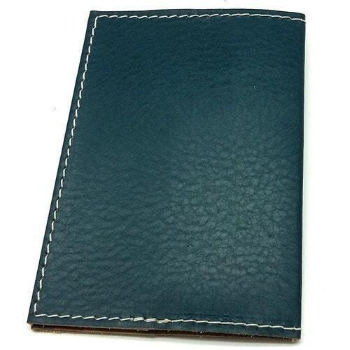 Кожаная обложка на паспорт. Кот-боксер (фото, вид 2)