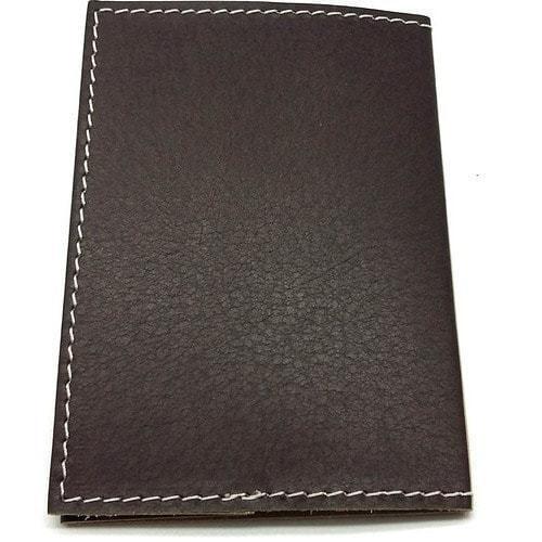 Кожаная обложка на паспорт. Зайчик (фото, вид 2)