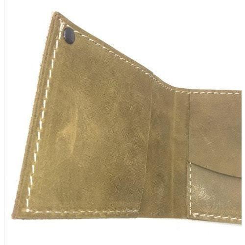 Кожаный кошелек. Ежик в тумане и улитка (фото, вид 2)