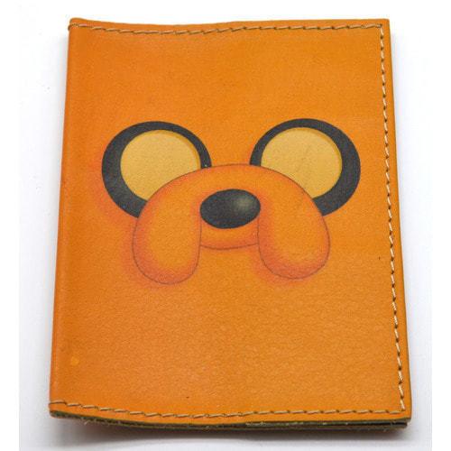 Кожаная обложка на паспорт. Время приключений. Джейк (фото, вид 2)