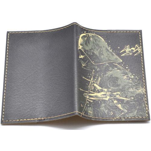 Кожаная обложка на паспорт. Звездный войны. Дарт Вейдер (фото, вид 1)