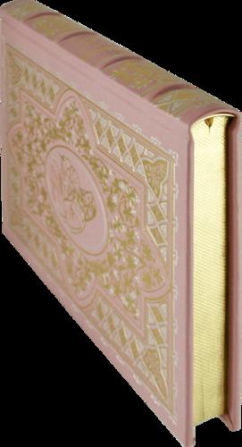 Подарочная книга в кожаном переплете. Библия в пересказе для детей (фото, вид 2)