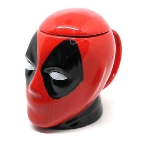 Подарочная 3D керамическая кружка Супергерои. Дэдпул (Deadpool) (фото)