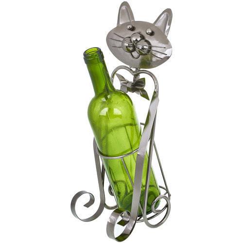 """Оригинальная металлическая подставка под бутылку """"Кот"""""""