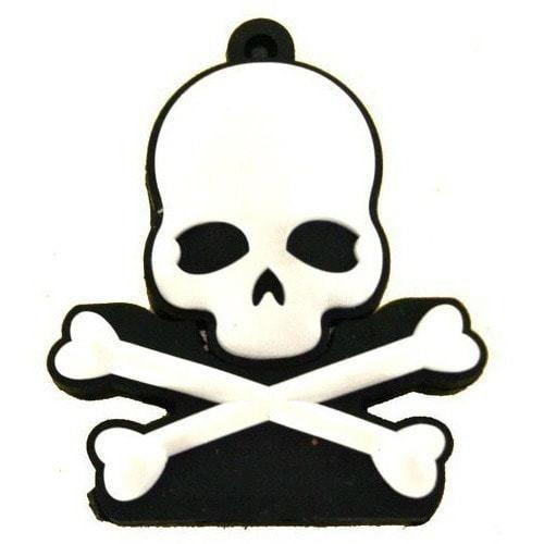 Подарочная флешка. Пиратская метка. Веселый роджер (фото)