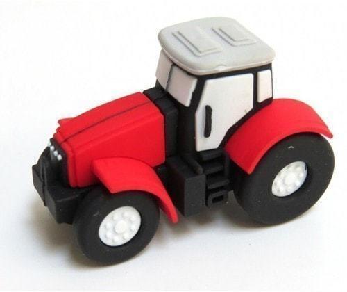 Подарочная флешка. Строительная техника. Трактор (фото)