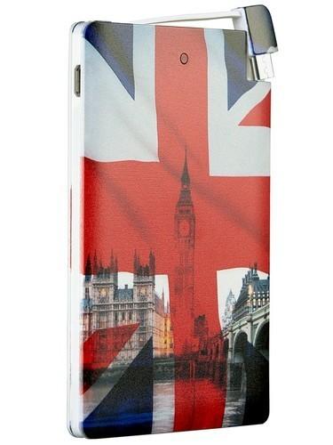 Подарочный внешний аккумулятор Powerbank. Британский флаг (2500 mah)