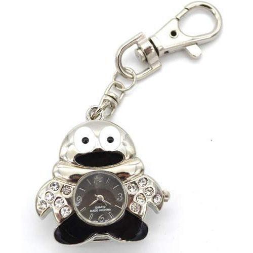 Ювелирные часы с флешкой. Пингвин (цвет черный) (фото)