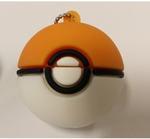Подарочная флешка. Покемон. Покебол (цвет оранжевый)