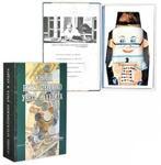 Подарочный набор с фарфоровым штофом. Основы бухгалтерского учета и аудита (фляга Бухгалтер)