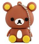 Подарочная флешка. Медвежонок коричневый
