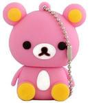 Подарочная флешка. Медвежонок розовый
