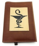 Подарочный ежедневник в кожаной обложке. Медицина - 2 (цвет коричневый)