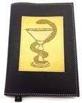 Подарочный ежедневник в кожаной обложке. Медицина - 1 (цвет черный)