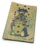Кожаная обложка на паспорт. Тоторо