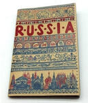 Кожаная обложка на паспорт. Russia